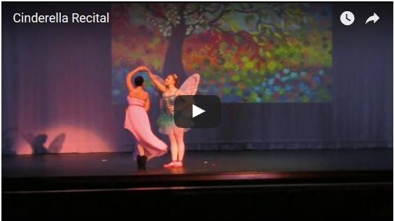 Cinderella Recital, Zapata TX