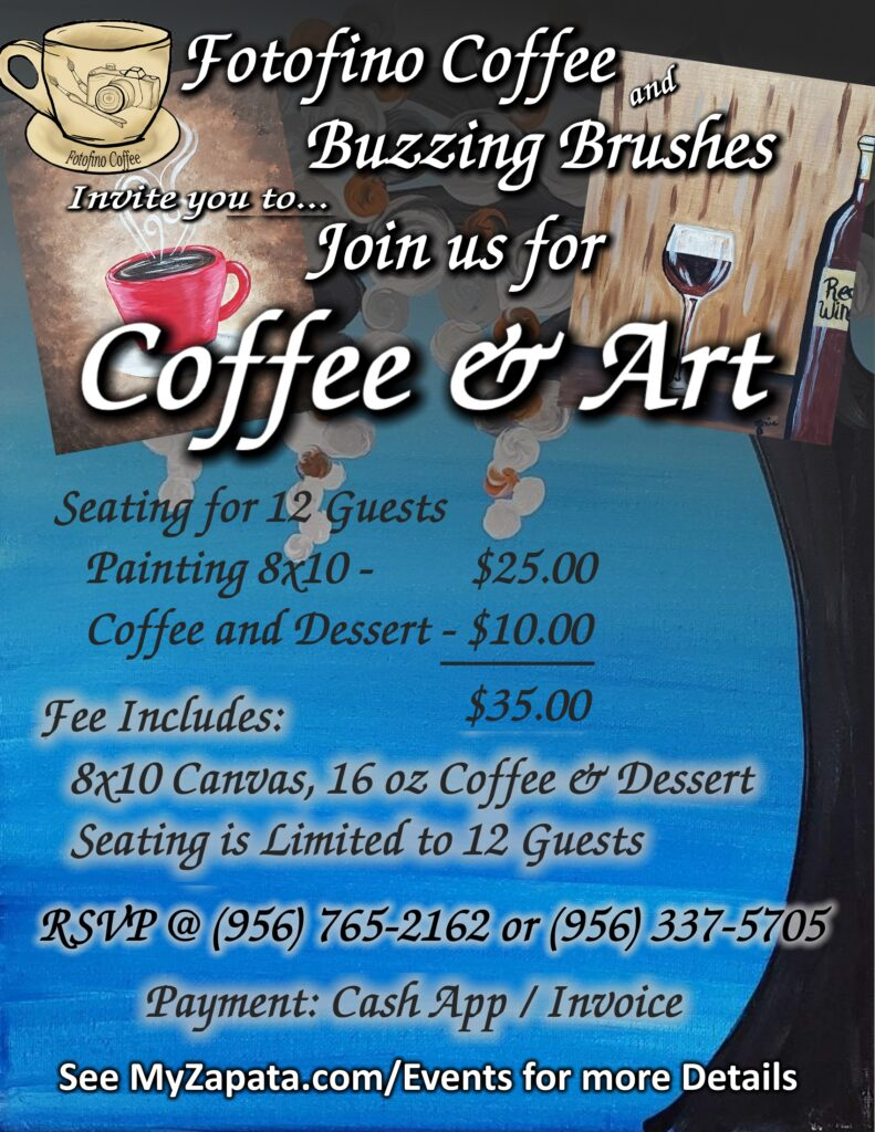 Fotofino Coffee - Painting Party